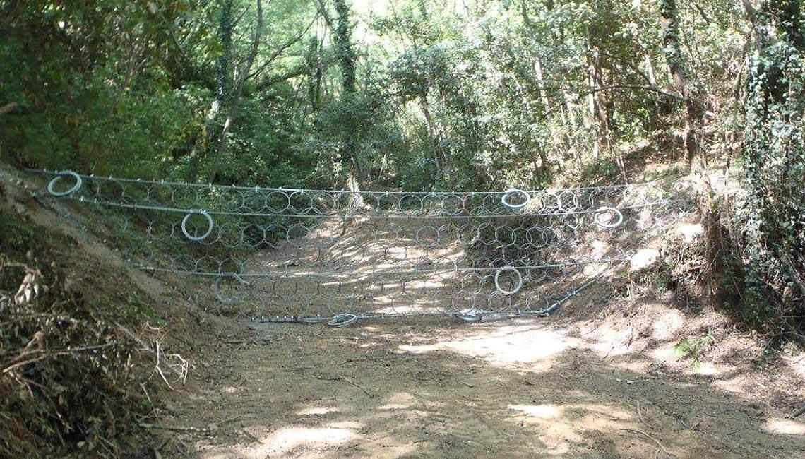 Barriera 'GEO-DF' anti-debris flow